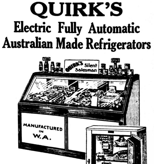 Quirk's Electric Refrigerators