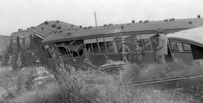 Midland Railway Disaster near Gunyidi