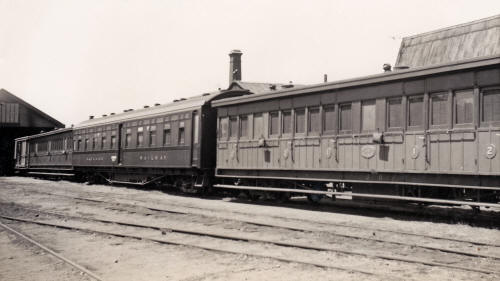 Midland Railway passenger carriages