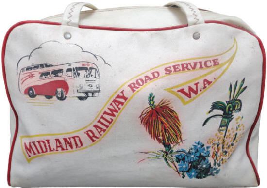 MRWA Road Service Luggage Bag