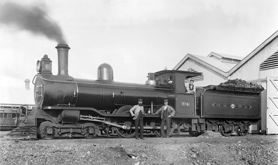 Midland Railway of Western Australia steam locomotive