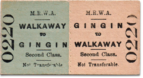 MRWA ticket Walkaway to Gingin