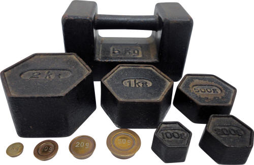 Metric Post Office Weights