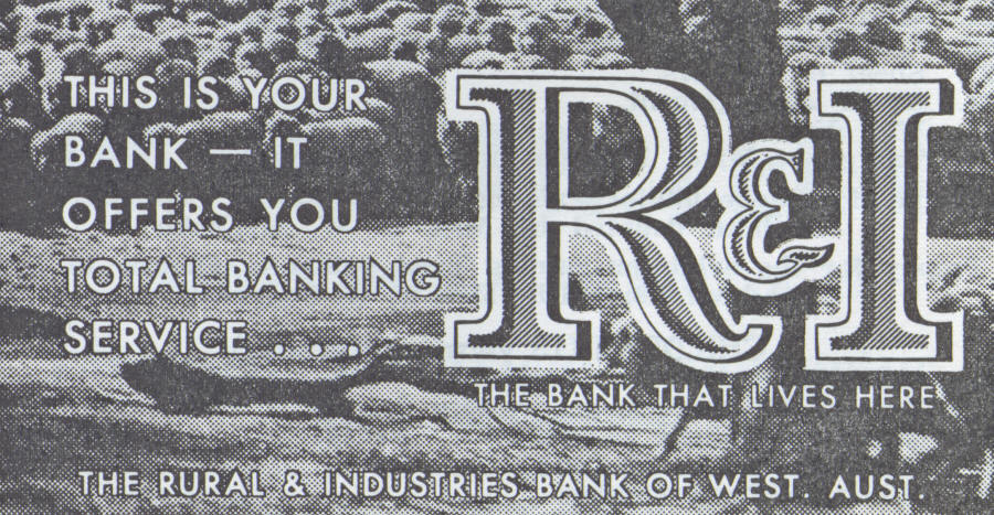 1963 Advertisement for the R & I Bank