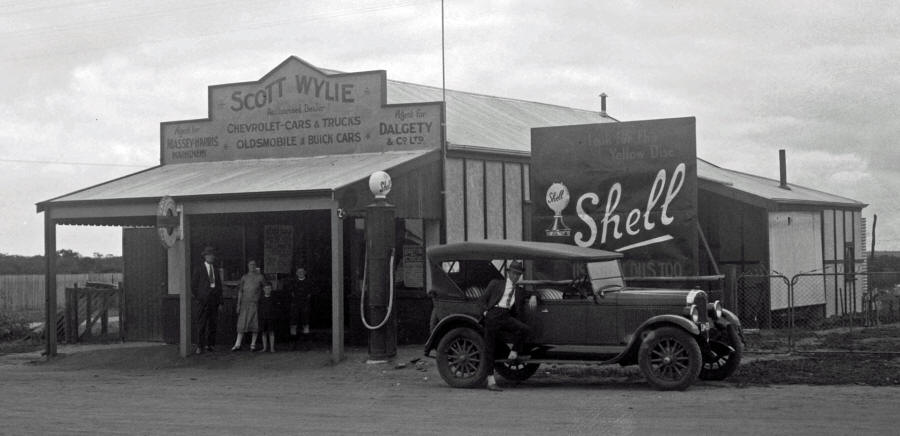 Scott Wylie's Store and Agency in Carnamah