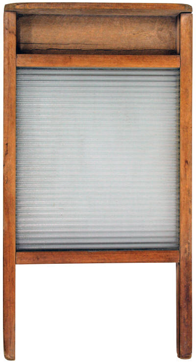 1920s Glass Washboard