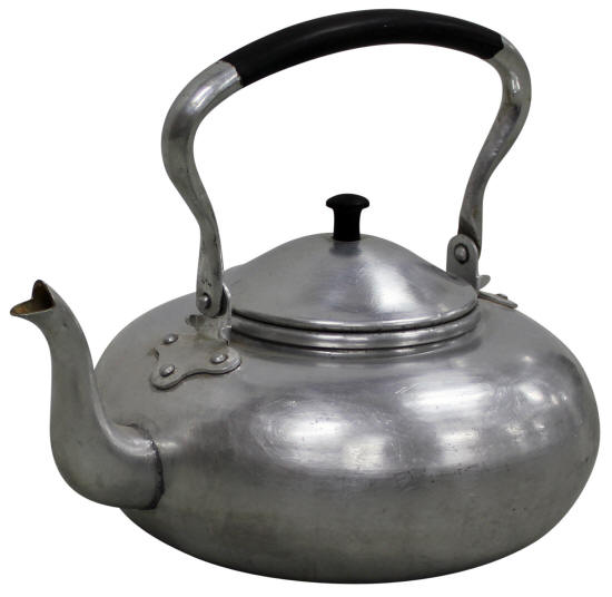 1960s Metal Stovetop Kettle