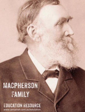 Macpherson Family education resource