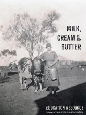 Milk, Cream & Butter education resource