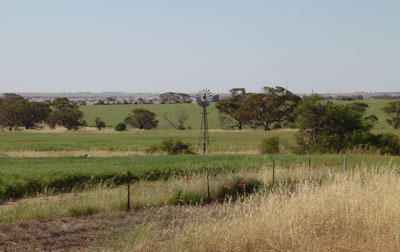 View from Macpherson Homestead