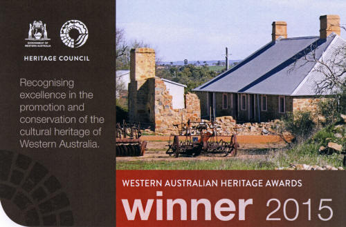 WA Heritage Awards