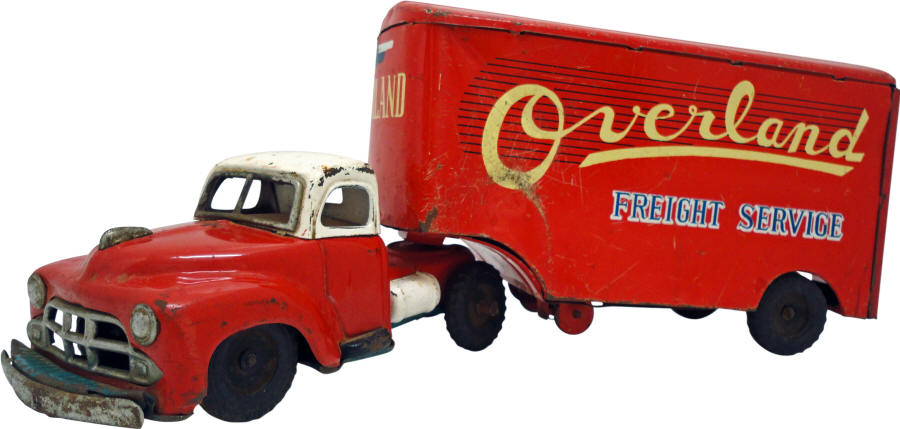 1958 Overland Fright Service Toy Truck