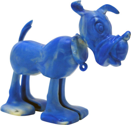 Plastic Dog Toy from Weeties Cereal Box