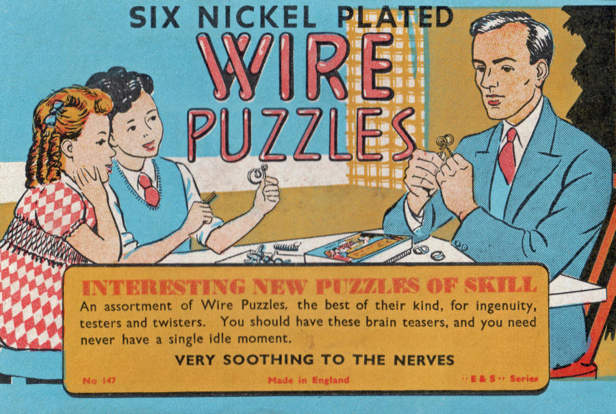 Toy Wire Puzzles