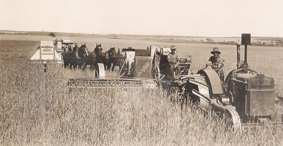 Harvest on Roger Clark's Farm in Carnamah